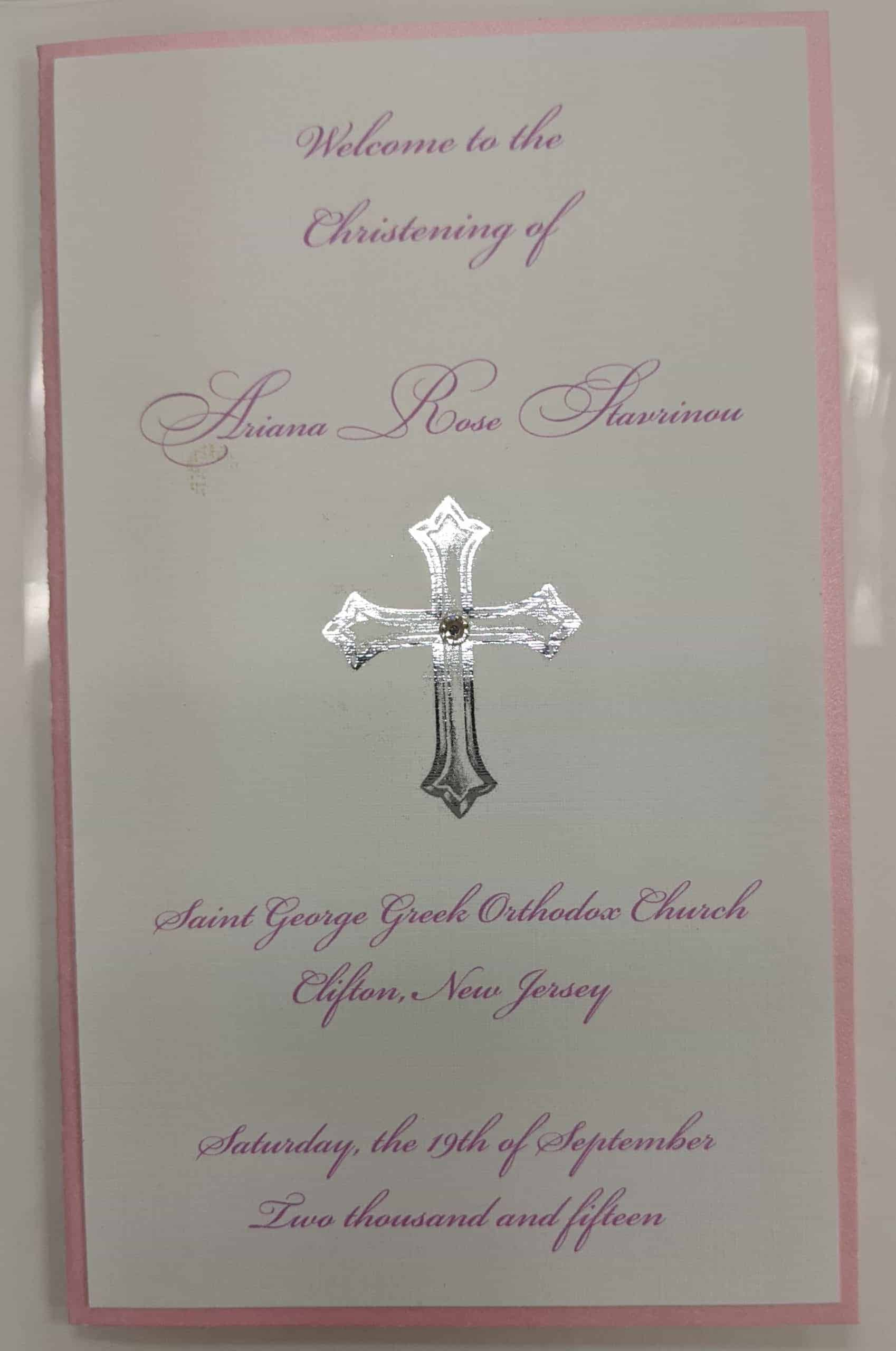 girls communion invitations NJ