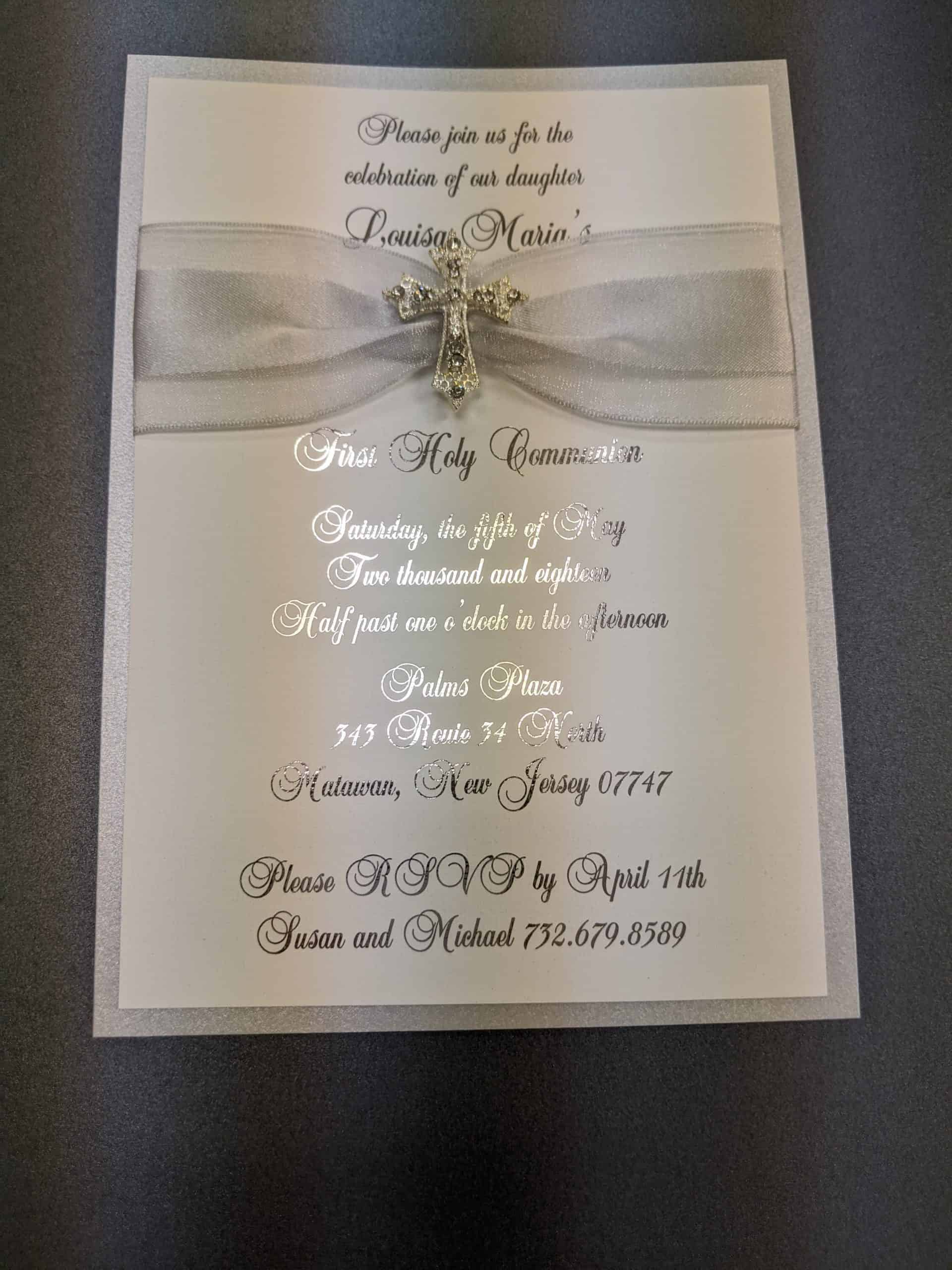 communion invitation nj