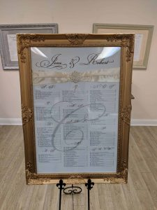 gold-wedding-frame-in-New-Jersey