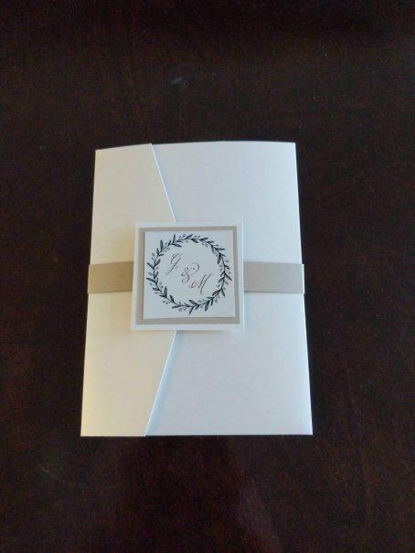 #1 pocket wedding invitations